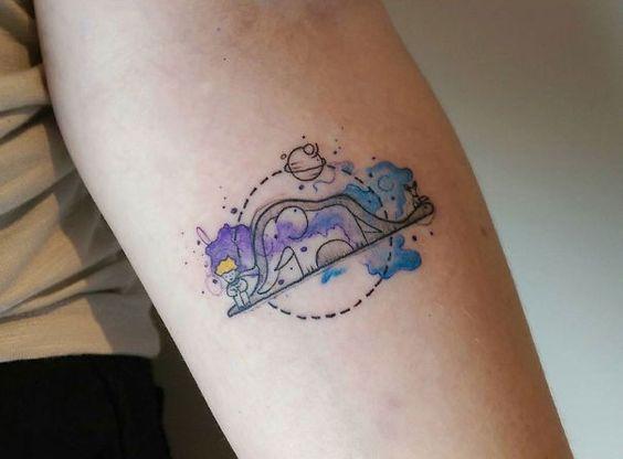 Les tatouages aquarelles et géométriques de Baris Yesilbas  2Tout2Rien