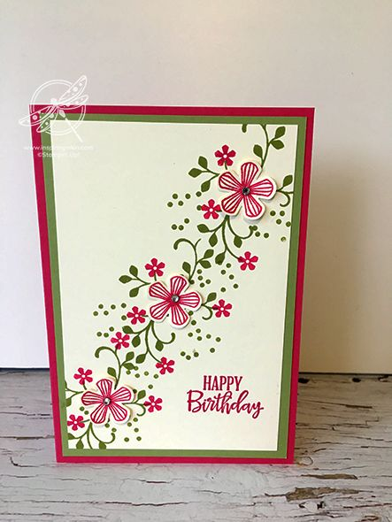 Thoughtful Blooms Card Inspiring Inkin Amanda Fowler Shop For Stampin Up Uk Products Birthday Cards Diy Stampin Up Birthday Cards Stamping Up Cards