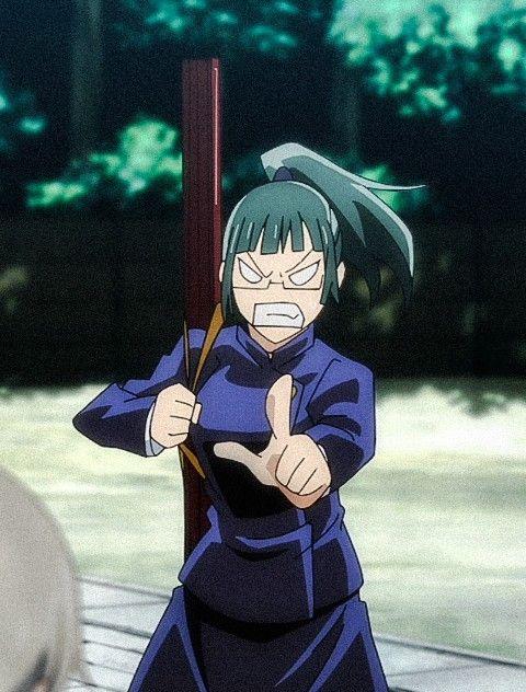 Zenin Maki Anime Jujutsu Sorcerer