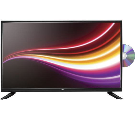 """JVC LT-32C365 32"""" LED TV with Built-in DVD Player"""