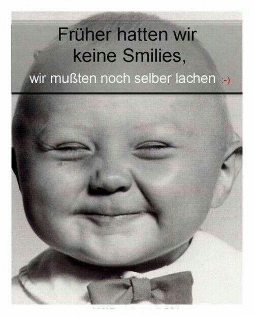 who needs smileys ?                                                …