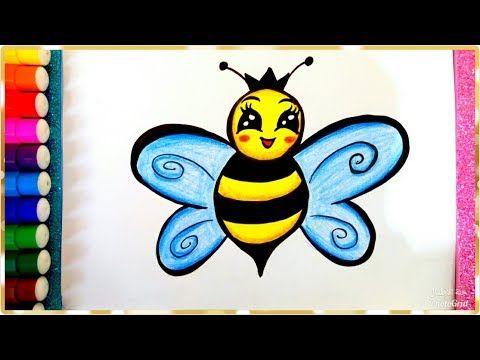 رسم نحلة سهلة للأطفال بالخطوات تعليم رسم النحلة تعليم الرسم للأطفال How To Draw A Bee For Kids Youtube Drawings Art Pluto The Dog