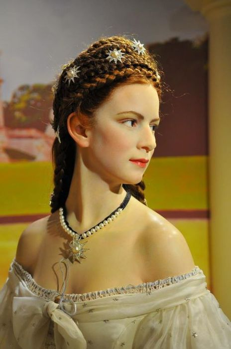 Another View Of That Stunning Wax Figure Of Empress