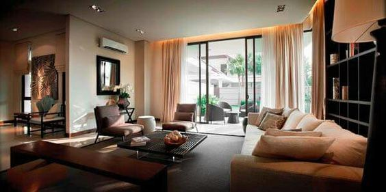 I love this kind of living room