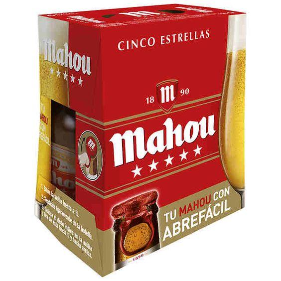 Bia Mahou 5,5% - Chai 250ml