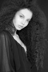Black gurls with long hair