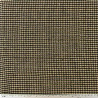 Black & Tan Homespun Basic Mini Check Fabric | Shop Hobby Lobby