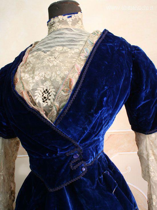 Dress, ca 1908, Abiti Antichi