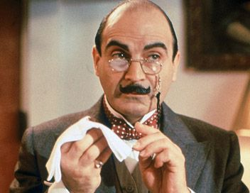 "David Suchet as Detective Hercule Poirot in ""Agatha Christie's Poirot"""