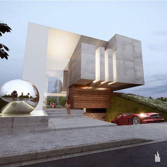 El dorado creato arquitectos for Amazing architecture houses