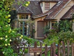 Adorable: Carmel Cottage, Fairytale Cottage, Storybook Cottage, Dream House, Dream Home, Cozy Cottage