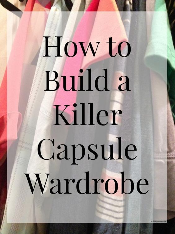 How To Build A Killer Capsule Wardrobe This Spring