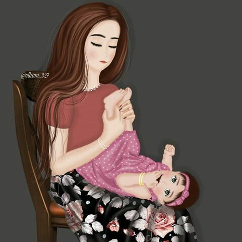 Pin De Randa Egyptology En My Daughter My Son Diseno Madre E Hija Imagenes Madre E Hija Dibujos Animados De Chicas