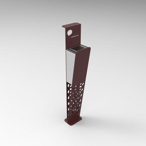 Cendrier Sur Pied En Tole En Metal D 039 Exterieur Glax Citysi Srl Metal Design Ashtray Metal Furniture