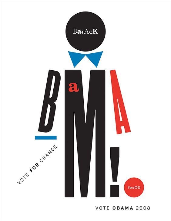 Ivette Montes de Oca. Barack Obama! .Bienal del Cartel Bolivia BICeBé® 2013