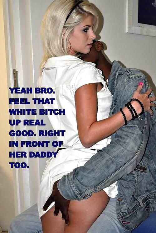 Blacks gangbang white girls
