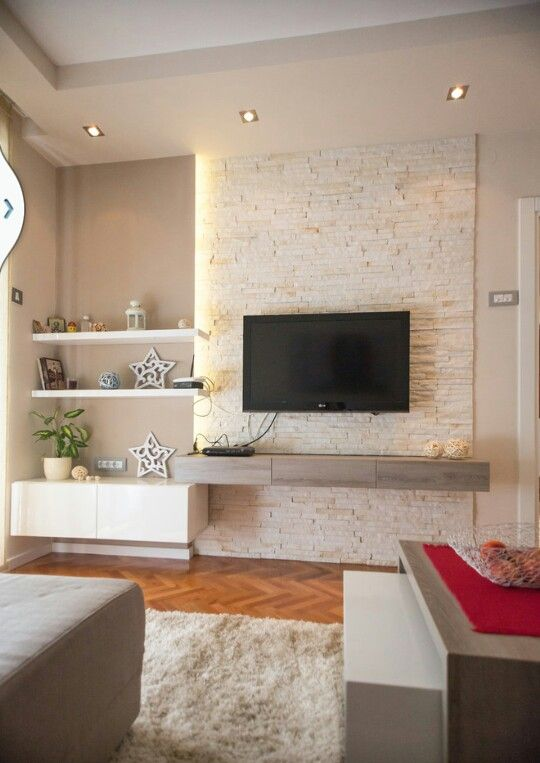 Tv units simple and tvs on pinterest - Simple wall unit designs ...