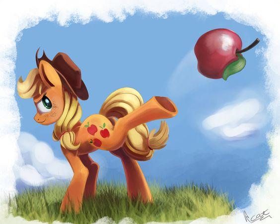 apple kick by InsaneRoboCat