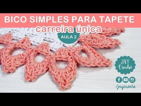 Bico De Croche Passo A Passo 45 Modelos Graficos E Videos Com