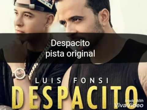 Pista Original Despacito Luis Fonsi Ft Daddy Yankee Karaoke Youtube Daddy Yankee Karaoke Daddy