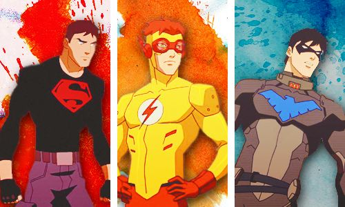 Young Justice Boys Season 2: Conner Kent/Superboy: Wally ...