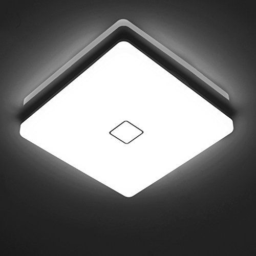 Ouesen 24w Wasserdichte Led Lampe Decke Moderne Dunne Quadratische
