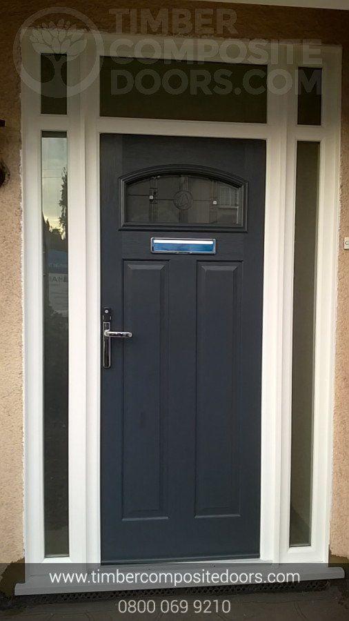 Solidor London Timber Composite Traditional Door Composite Door House With Porch Composite Front Door