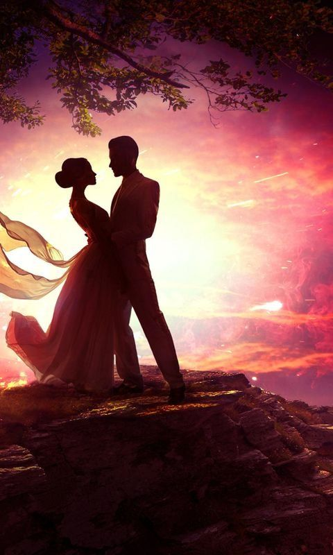 Dancing Couple In Moonlight Wallpaper For Iphone And 4k For Laptop Download Now For Free Hd Artist A Couple Dancing Desktop Wallpapers Backgrounds Moonlight