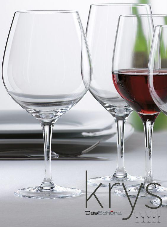 Copa KRYS de DasSchöne, para vestir las mesas más exigentes. Serie de #copas de la marca #DasSchöne. Fabricadas con #cristal de la máxima calidad, duradero, resistente a los golpes y al lavavajillas. Diseñado para su uso en #restaurantes, #hoteles y #catering. Borde Fino. Tecnología: Platinum® Glass. Disponible desde 2,70€/unidad en http://www.tiendacrisol.com/tienda.php?Id=10150