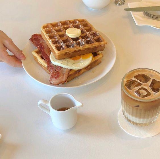 #breakfast #aesthetic #inspo