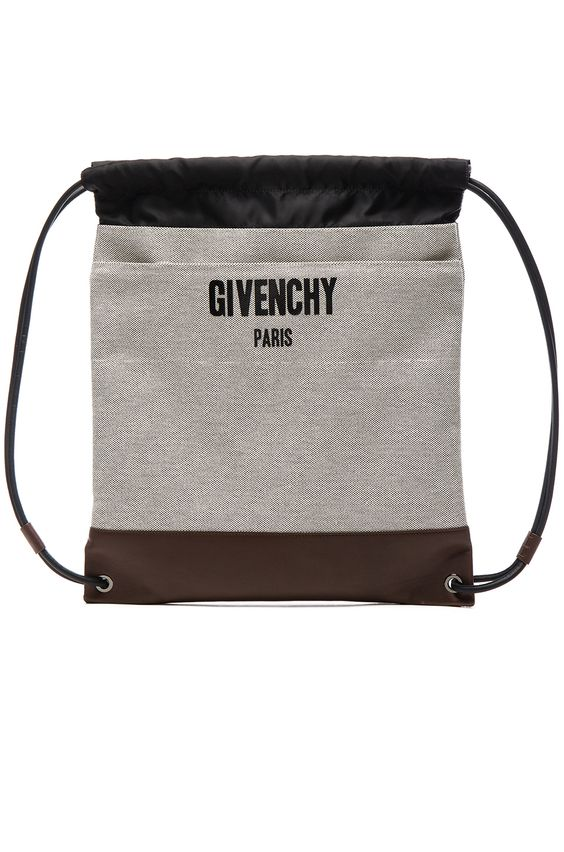 GIVENCHY Canvas New Rave Bag. #givenchy #bags #shoulder bags #leather #canvas #lining #cotton #