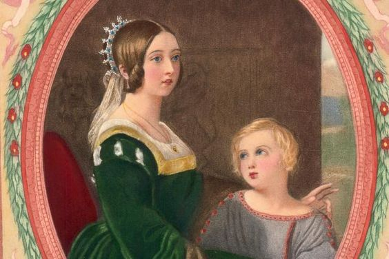 Queen Victoria's Fertile Family Tree: Queen Victoria and Her Son, the Prince of Wales, 1848