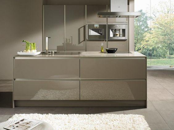 Kitchen Ideas Cream Gloss high gloss kitchen design | kitchentoday within kitchen ideas high