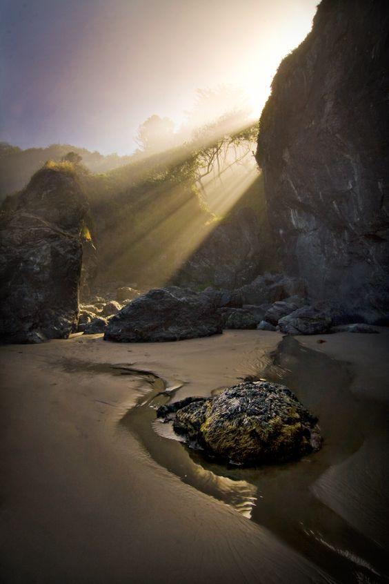 Camelrock Beach, Eureka, Humboldt County, CA