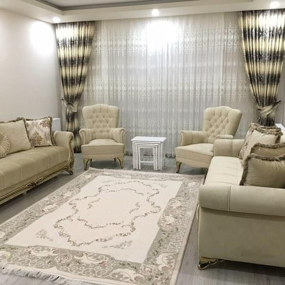 Lochas Ultra Soft Indoor Modern Area Rugs Fluffy Living Room