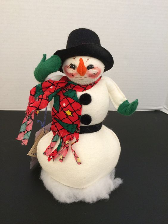 """Annalee 10"""" Snowman 1999"""