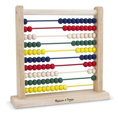 I bought my son the wooden abacus by Melissa & Doug because we were learning about adding and subtracting and it made a great visual tool.   I remember when I was younger, we had an abacus and I remember how easy it made simple it made math.  A lot of kids are visual and [...]