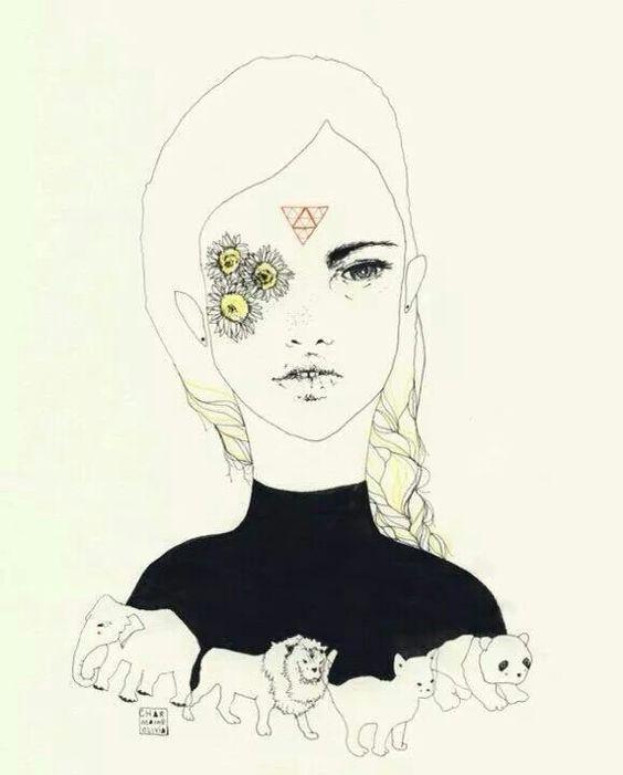 Charmaine Olivia sunflower eyes.