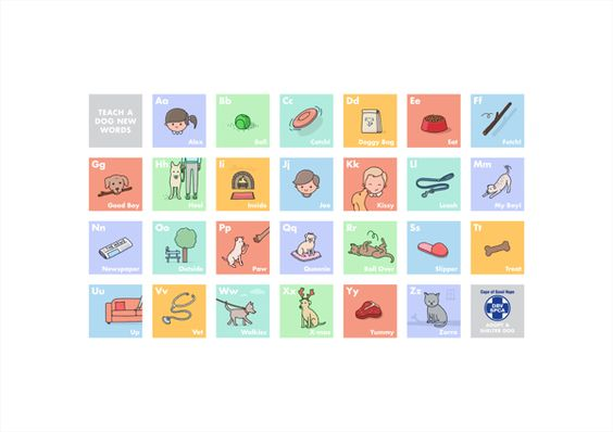 Teach a do a new word.... very cool poster for the SPCA by Jaco Haasbroek, via Behance