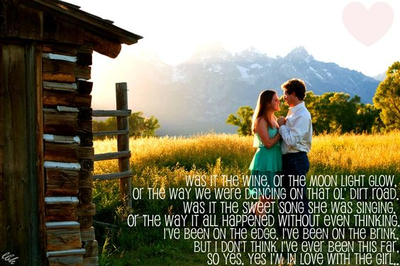 """In Love With The Girl"" -Luke Bryan"