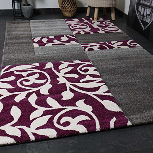 moderne salon tapis design avec motif