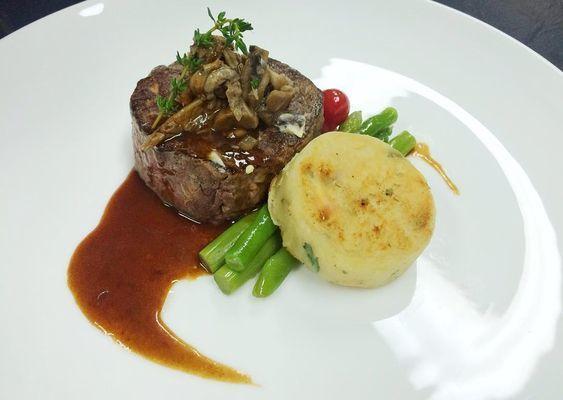Wagyu Tenderloin Includes 2 Fillet Steak Recipes Food Plating Butter Fish Recipe