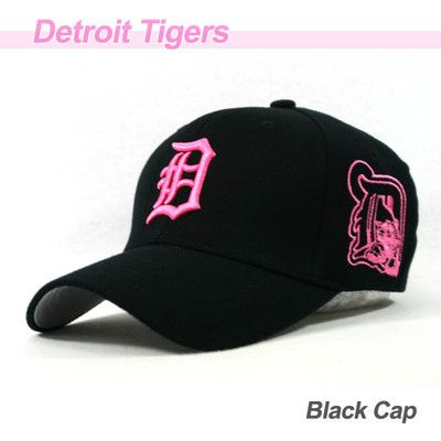 Cute Pink Embroidered Detroit Tigers Cap...LOVE IT!