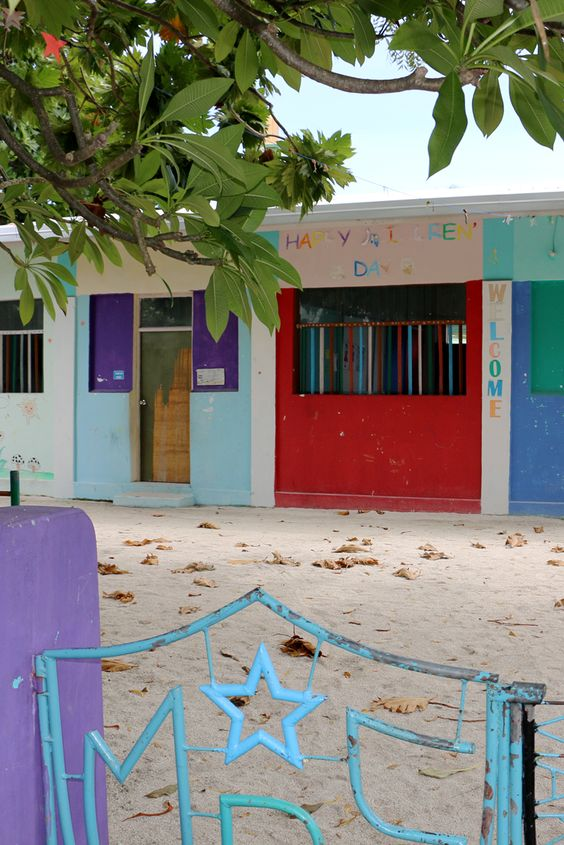 #Kindergarten #Maldives