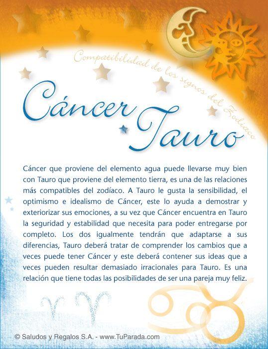 Cancer Con Tauro Virgo Compatibilidad Piscis Y Tauro Virgo