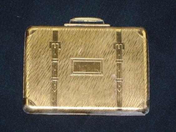 1950's Kigu Suitcase Compact