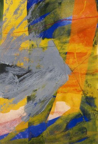 Gerhard Richter » Art » Oil on Paper » Untitled (8.3.85)
