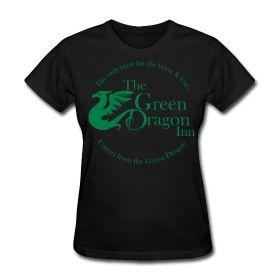 Green Dragon Inn Womens T Shirt S-XXL