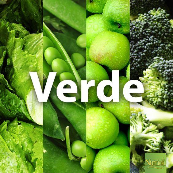 Agrega todos los colores en tus plato, pero no olvides incluir al más importante, el verde de Nutrioli. ¡Chop, chop, chop! Consume:  - Brócoli  - Manzanas - Chícharos  - Lechuga  - Kiwis  - Pimientos