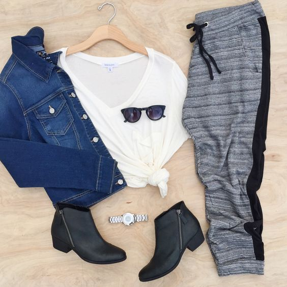 How To Wear Joggers From Day To Night | Wet Seal Blog #wetsealplus #psootd #plusfashion